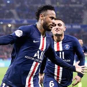 Neymar decide com golaço no fim e PSG bate o Lyon no Francês