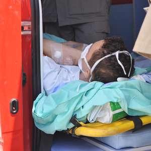 Paciente morre durante transferência após fogo em hospital