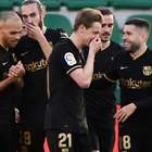Sem Messi, Barça vence 4ª seguida com brilho de De Jong