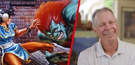 Morre Mick McGinty, artista de Street Fighter II