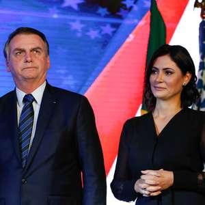 Bolsonaro critica reportagem sobre família de Michelle