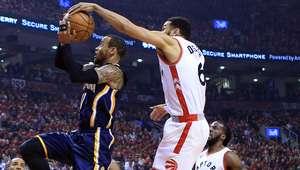 Raptors vencem Pacers e avançam nos playoffs da NBA