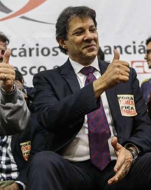 "Esquerda se divide sobre ""bloco na rua"" de Haddad para 2022"