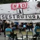 Alunos bloqueiam avenida de SP contra reorganização escolar
