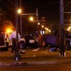 Un conductor atropella a una multitud en Nueva Orleans