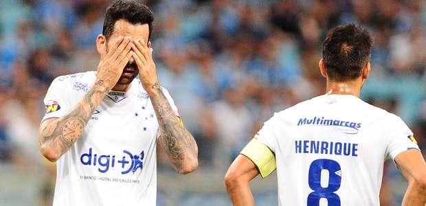 Cruzeiro perde trio para 'jogo da vida' contra o Palmeiras