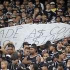 Faixa de organizada contra a Globo gera tumulto com PMs