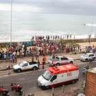 Helicóptero da Globo cai e deixa ao menos dois mortos