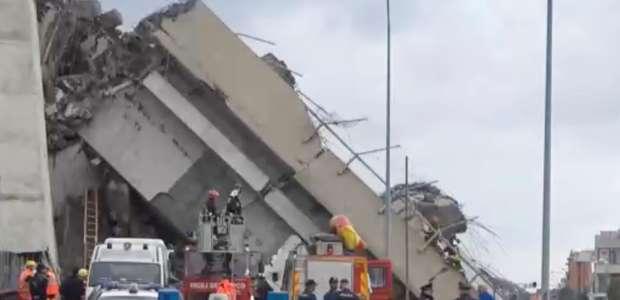 Itália confirma 11 mortos em desabamento de ponte em Gênova