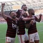 Flamengo sofre, mas vence Athletico no Maracanã por 3 a 2
