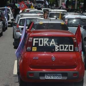 Carreatas tomam ruas do País por impeachment de Bolsonaro