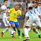 Miranda marca aos 47 e Brasil derrota Argentina na Arábia