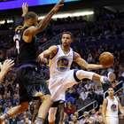 Warriors echan mano de triples para sumar su 17mo triunfo