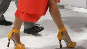 Zapatos con tacón de tabaco: irreverente propuesta de ...