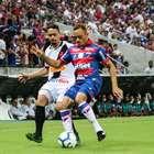 Vasco leva gol no fim e fica no empate com o Fortaleza