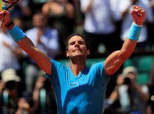Nadal vira sobre argentino e avança à semi de Roland Garros