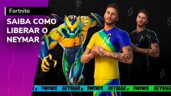 Fortnite: como jogar com o Neymar