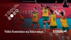 Brasil vence Sérvia no vôlei feminino e assume liderança
