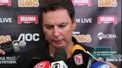 VASCO: Alexandre Faria esclarece as situações de Lucas Santos e Jordi.