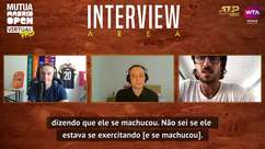 TÊNIS: Madrid Open Virtual Pro: Lopez explica ausência de Nadal em jogo online