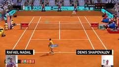 VIRAL: eSports: Nadal vence também de forma virtual (4-3 contra Shapovalov)