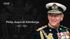 Morre príncipe Philip, marido da rainha Elizabeth 2ª