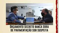 Orçamento secreto de Bolsonaro banca obra de pavimentação sob suspeita