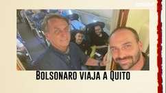 Bolsonaro viaja a Quito para acompanhar posse de novo presidente do Equador, Guillermo Lasso