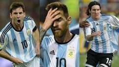 Relembre todas as participações de Messi na Copa América