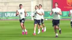 ESPANHA: Equipe faz seu primeiro treino após empate com a Suécia na estreia da Euro