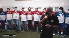 NÁUTICO: Confira o discurso de Hélio dos Anjos para o elenco após a vitória sobre o Vila Nova