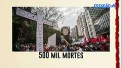 Políticos lamentam marca de 500 mil mortes pela covid-19 e responsabilizam Bolsonaro