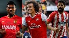 Veja 25 jogadores brasileiros sem clube ou ficando sem time