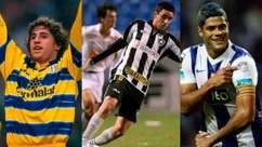 A situação de grandes nomes do atual Brasileirão há dez anos