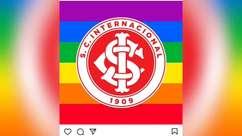 Clubes prestam homenagens no dia Internacional do Orgulho LGBTQIA+