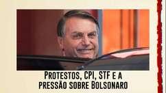 Protestos, CPI, STF e a pressão sobre Bolsonaro