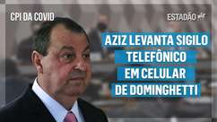 CPI da Covid: Aziz levanta sigilo telefônico em celular de Dominghetti