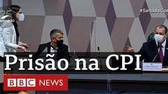 Presidente da CPI da Covid manda prender ex-diretor do Ministério da Saúde