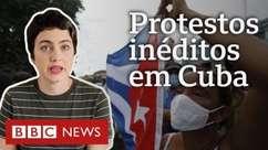 Entenda em 3 pontos por que milhares saíram às ruas em Cuba