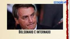 Bolsonaro é internado com dores abdominais e cancela reunião entre Poderes