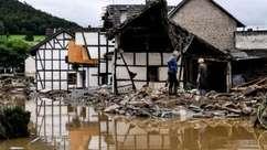 'Foi tudo embora': chuva recorde causa enchentes e mortes na Alemanha