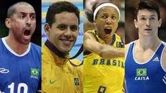 Os astros do esporte que serão comentaristas da Globo na Olimpíada