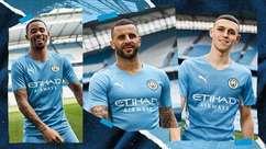 Manchester City lança camisa com homenagem a gol histórico de Agüero