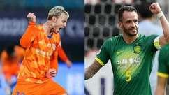 Veja bons jogadores brasileiros que atuam na China e até quando vão seus contratos