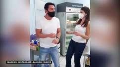 Jornalista esportivo narra momento da vacinação contra Covid-19 e viraliza nas redes sociais
