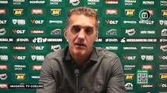 """AMÉRICA-MG: Mancini projeta semana de treinos e pontos a serem trabalhados: """"Temos que acentuar algumas coisas"""""""