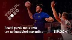 Seleção masculina de handebol perde para a França, mas continua na disputa