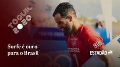 No surfe, Italo Ferreira conquista 1º ouro para o Brasil