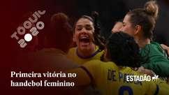 Seleção feminina de handebol bate Hungria e conquista primeira vitória