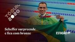 Nadador Fernando Scheffer conquista o bronze nos 200m livres